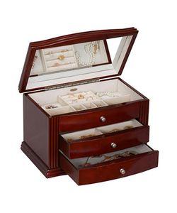 Mele & Co. | Georgia Wooden Jewelry Box