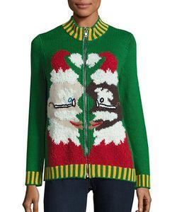 Whoopi Goldberg   Zip-Up Ugly Christmas Sweater