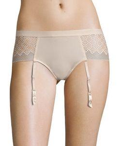 DKNY | Sheer Lace Hipster Garter Panties