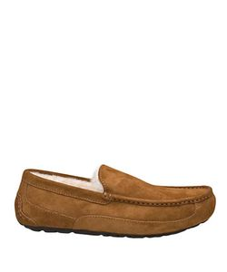 UGG | Ascot Suede And Shearling Slippers