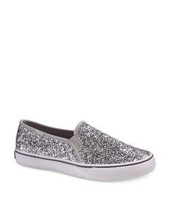 Keds | Double Decker Glitter Slip-On Sneakers