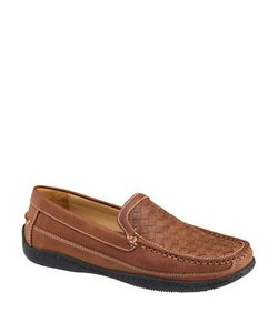 Johnston & Murphy | Woven Leather Loafers