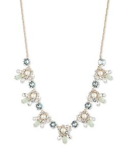 Marchesa | Botanical Item 6mm Pearl And Tone Necklace