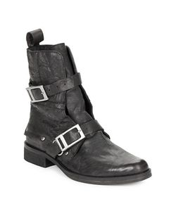 Free People | Outsider Leather Ankle Boots