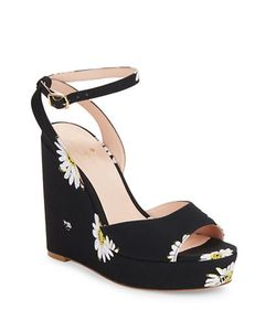 Kate Spade New York | Dellie Daisy Wedge Sandals