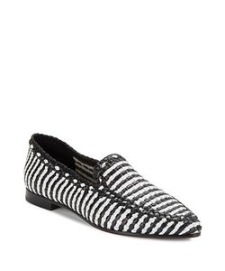 Kate Spade New York   Caylee Woven Leather Loafers