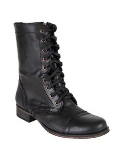 Steve Madden | Troopa Leather Combat Boots