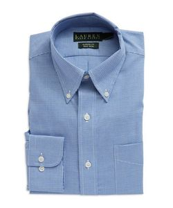 Lauren Ralph Lauren | Classic-Fit Micro Check Dress Shirt