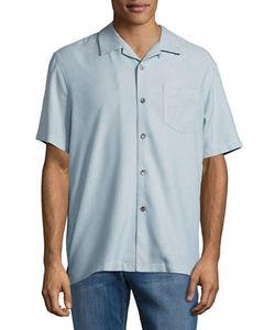 Tommy Bahama   Ocean Oxford Silk Sportshirt