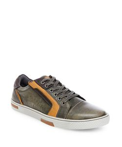 Steve Madden | Adison Leather Fashion Sneakers