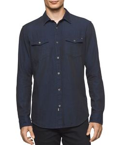 Calvin Klein Jeans | Rip And Repair Denim Sportshirt