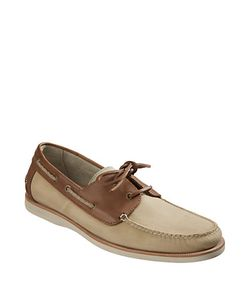 Tommy Bahama | Brody Leather Two-Tone Boat Shoes