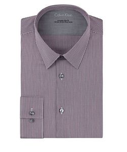Calvin Klein | Extreme Slim Fit Micro Check Dress Shirt