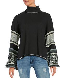 Free People   Northern Light Mockneck Sweater