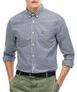 Lacoste | Gingham Check Woven Shirt