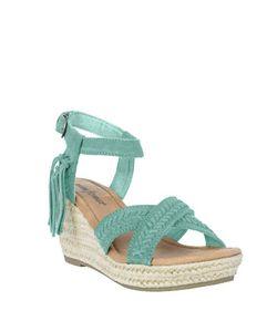 Minnetonka | Naomi Suede Espadrille Wedge Sandals