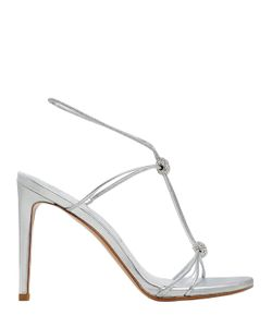 Stuart Weitzman | 90mm Trixie Swarovski Leather Sandals