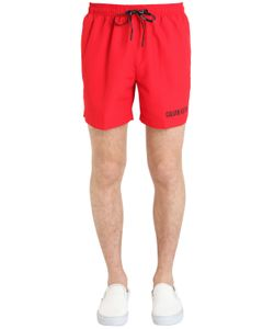 Calvin Klein Underwear | Double Waistband Nylon Swim Shorts