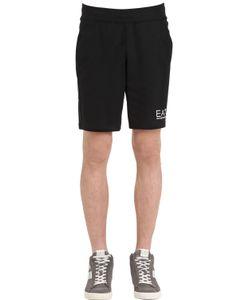 Ea7 Emporio Armani | Logo Cotton Shorts