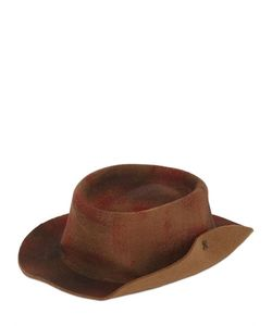 Barbisio | Rubberized Wool Felt Pressed Hat