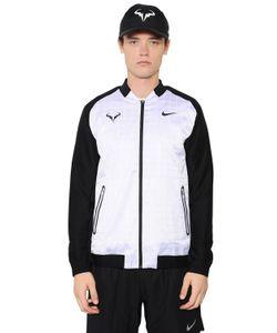 Nike   Nadal Nylon Stretch Tennis Jacket