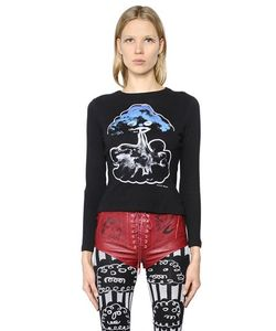 Claire Barrow   Cloud Printed Cotton Jersey T-Shirt