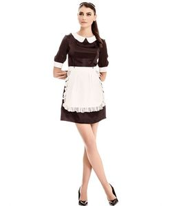 Murmur   Silk Chantilly Lace Maid Outfit