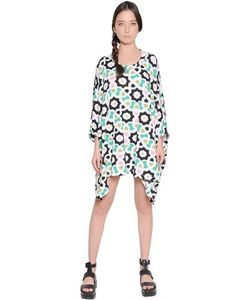 Yvonne S | Floral Printed Cotton Jersey Dress