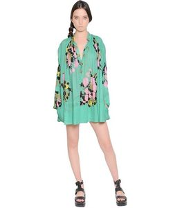 Yvonne S | Floral Printed Cotton Voile Dress