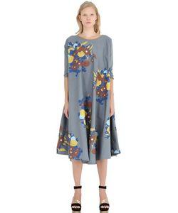 Yvonne S | Floral Cotton Poplin Dress