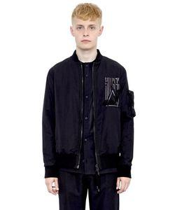 Alexandre Plokhov | Somber Wool Blend Bomber Jacket