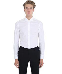 Salvatore Piccolo | Slim Fit Cotton Poplin Shirt