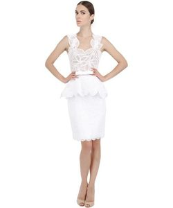 Martha Medeiros | Cotton Lace And Tulle Dress