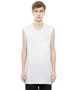 Alexandre Plokhov | Sleeveless Cotton Modal Jersey T-Shirt
