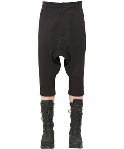 Alexandre Plokhov | Cropped Wool Cotton Blend Pants