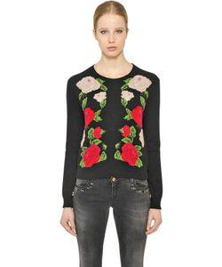 Blugirl | Intarsia Wool Blend Knit Sweater