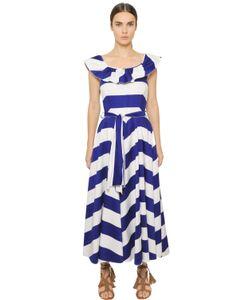 Blugirl | Striped Stretch Cotton Dress
