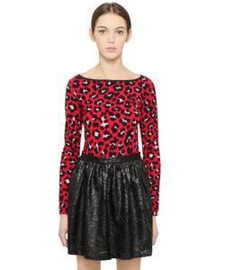 Blugirl | Leopard Printed Viscose Sweater