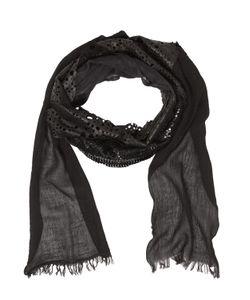 Cutuli Cult | Patchwork Leather Silk Scarf