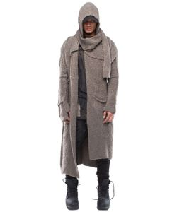 Demobaza   Holy Bear Wool Knit Cardigan