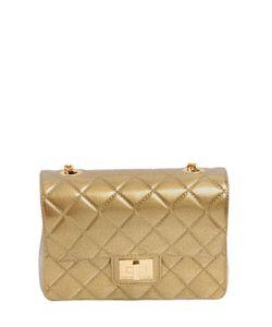 Designinverso   Milano Quilted Effect Pvc Shoulder Bag