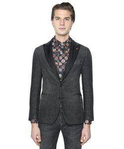 Gabriele Pasini | Stretch Cotton Denim Jacket