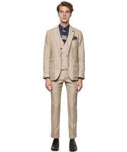 Gabriele Pasini | Linen Cotton Cashmere Drill Suit