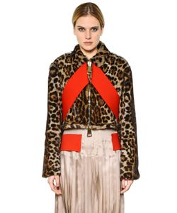 Givenchy | Printed Marmot Fur Jacket
