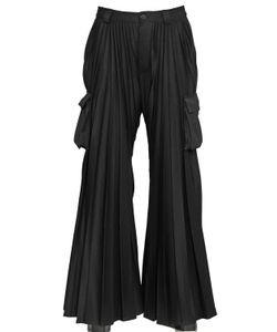Hood By Air | Pleated Flared Cargo Pants