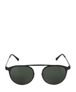 Italia Independent | Rounded Lightweight Metal Sunglasses