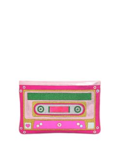 Manish Arora | Cassette Tape Glittered Leather Pouch