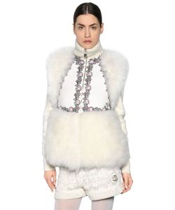 Moncler Gamme Rouge   Cashmere Fur Wool Vest