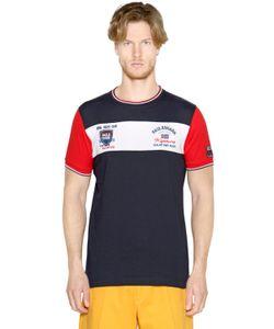Paul & Shark | Embroidered Cotton Jersey T-Shirt