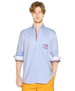 Paul & Shark | Embroidered Cotton Oxford Shirt